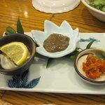 吉本 - 珍味3種その1
