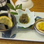 吉本 - 珍味3種その2