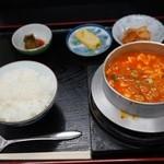 青ちゃん - スンドゥブチゲ定食¥680