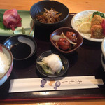楓庵 - 日替り定食800円