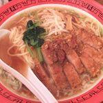 万世麺店 - パーコー麺大盛り 900円