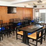 喫茶居酒屋のん - 2階フロア(テーブル席:カラオケ可)