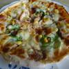 臍島 - 料理写真:手作りピザは生地からこねるぞん¥600