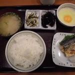 TSUDA屋 - 朝定食A 500円