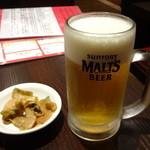東方一角 - 生ビール:472円
