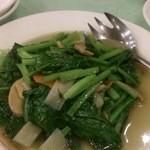 料麺館 - 青菜炒め