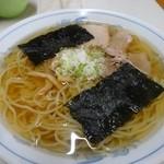 中華そば八千代 - 料理写真:中盛り600円