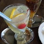 珈琲 千茶古 - とーっても濃いレモンスカッシュあります