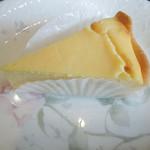 珈琲 千茶古 - ここのチーズケーキ好きです