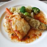 古民家レストラン シャンドフルール - 本日のお魚料理メイン