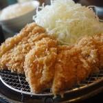 まんぶう - ランチ定食(ロース、チキンカツ