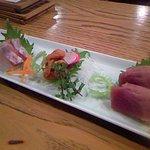 原始焼・二代目・魚々子 - お刺身3種盛りあわせ