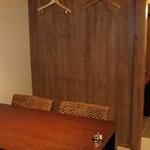 遊帆亭 - ゆとりのあるテーブル席