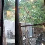 醉蓮火 - 建設中のテラス席