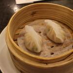 菜香新館 - 貝柱入り蒸し餃子