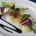 Resutorantoriibira - フランス産生ハムと鮮魚の炙り