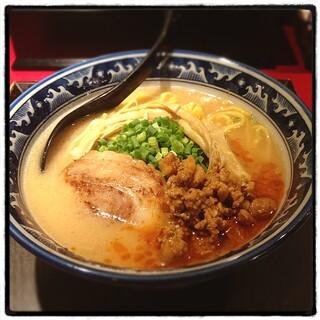 麺匠 佐蔵 - 佐蔵味噌らぅめん。 信州・安養寺味噌を使用。 クリーミーで美味い。 バランスよくてかなり完成度高い!
