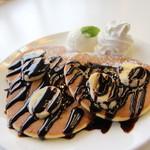 ヴィンテージ - チョコバナナパンケーキ