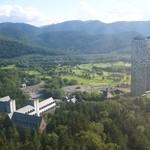 星野リゾート リゾナーレ トマム - 部屋から見える景色。