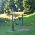 星野リゾート リゾナーレ トマム - 庭にはハンモックもあります。