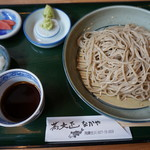 蕎麦正 なかや - 飛騨ざるそば(並)930円