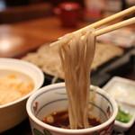 信州そば あずみ野 - 料理写真:倉科(長野)で作られた蕎麦リフトアップ