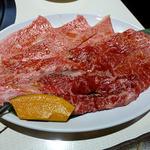 鶴橋ホルモン本舗 - 黒毛和牛ランチ 1800円 和牛200g