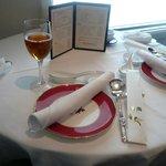 故宮 - テーブル