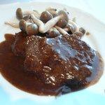 故宮 - 牛フィレ肉のステーキ 黒胡椒風味