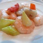故宮 - 海老とくわいの塩炒め