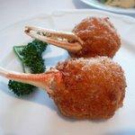 故宮 - 蟹爪の海老すり身包み揚げ