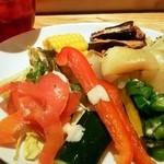 30850357 - ビュッフェの野菜たち(この日は時間が遅かったので種類が少な目)