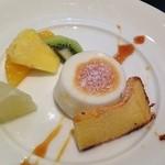 千疋屋レストラン BIWAWA - ランチデザート