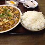 30851771 - 麻婆豆腐定食