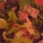 30851982 - ベーコンと松の実のサラダ