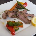 Trattoria TAZZA - イベリコ豚と季節野菜のグリリア