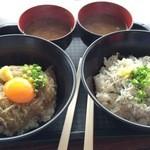 田子の浦港 漁協食堂 - 赤富士丼&釜揚げ丼のそろい踏み