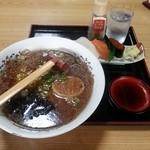 30855037 - ラーメン&ミニ生寿司