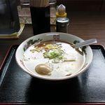 大勝食堂 - ラーメン+味玉(650円)