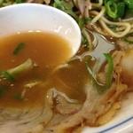 たく味 - たく味のチャーシューメン、とんこつ味のまったりスープ(14.09)