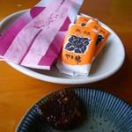 まごめや - 茶菓子と蕎麦味噌