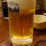 居酒屋 よさこい - 生ビール