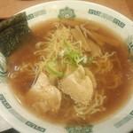 日高屋 キュービックプラザ新横浜店 - 中華そば<拡大>(2014.09.05)