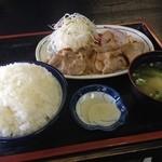 あさい食事処 - 料理写真:生姜焼き定食 630円☆(第四回投稿分①)