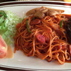 歓土里 - 料理写真:ハンバーグスパゲティ