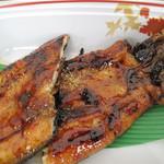日田 鮎やな場 - 鮎以外の料理もあります。 日田のもうひとつの特産物である鰻。 鰻の蒲焼。