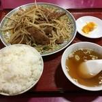 30864094 - ニラレバ定食(サービスランチ価格720円)