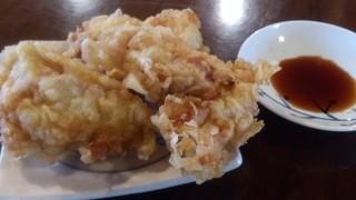麺喰 - 単品とり天