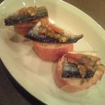30867593 - 2014.9 秋刀魚の燻製サンド