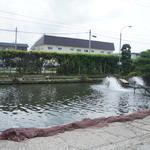 米沢鯉 六十里 - 養殖の生簀があります。